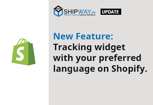 New Feature: Tracking widget with your preferred language.
